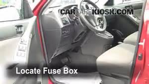 interior fuse box location 2003 2008 pontiac vibe 2008 pontiac vibe 1 8l 4 cyl