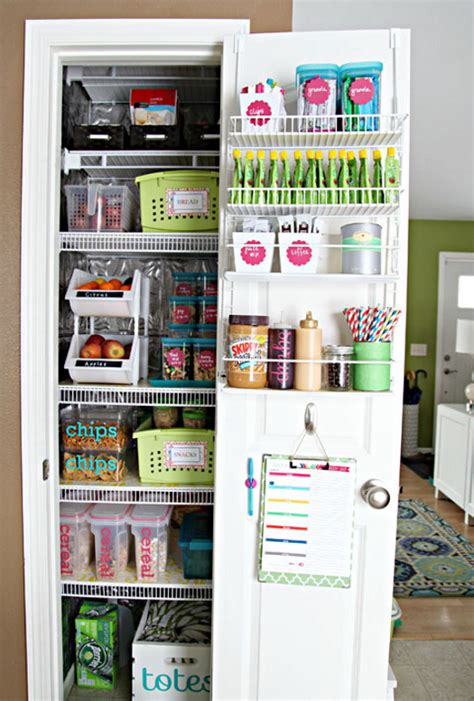 Kitchen Organizers Pantry by 16 Pantry Organization Ideas That Your Kitchen Will