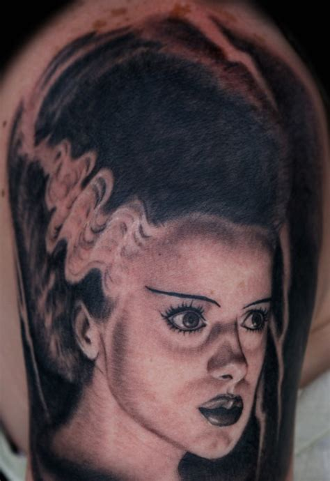 bride of frankenstein tattoo large image leave comment