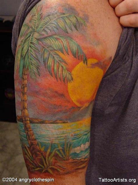 sunrise sunset tattoo designs 17 best ideas about sunset tattoos on island