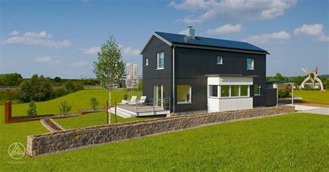 show house s1 baufritz energy self sufficient house