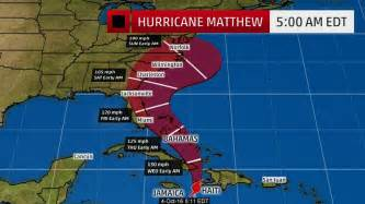 hurricane matthew expected to barrel to florida the