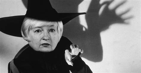 does janet yellen wear a wig janet yellen is a wizard who knows the future nymag