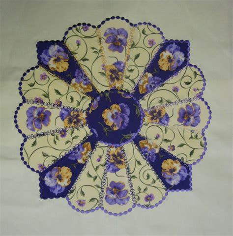 Quilt Dresden Plate Pattern by Free Dresden Plate Quilt And Pattern