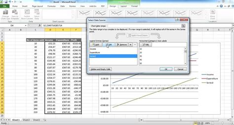 excel magic trick 744 break even analysis formulas chart plotting creating a break even chart in excel youtube