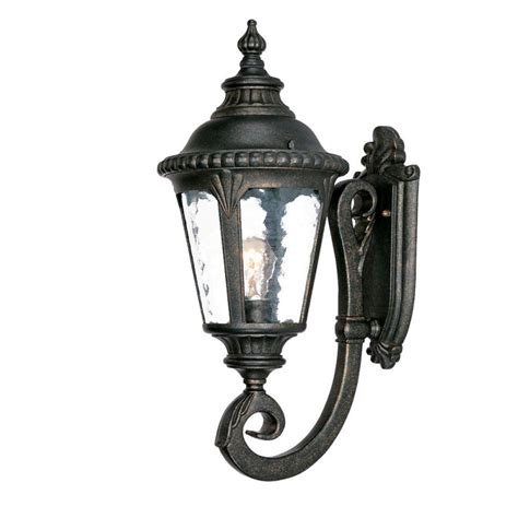 Acclaim Lighting Acclaim Lighting 7201bg Black Gold Surrey 1 Light 19 5