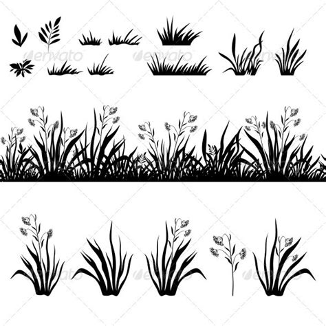 Cutting Patch The Only 25 best images about plant and grass silhouettes on