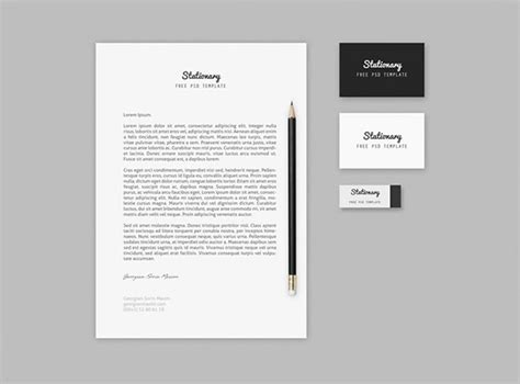 mock up template 50 free branding identity stationery psd mockups