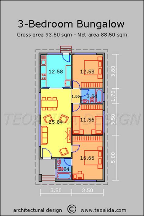 50 sqm home design stavět s l 225 skou rodiny house design bungalow 50 sqm