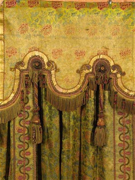 antique drapes antique window treatment antique draperies