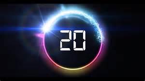 Visualizer Music countdown timer 20 sec v 466 news theme circle
