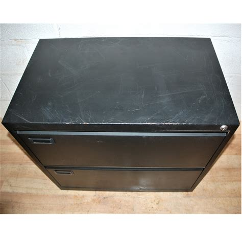 budget 2dwr lateral filing cabinet black marked 6093