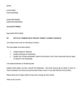 tenancy termination letter template nz best photos of