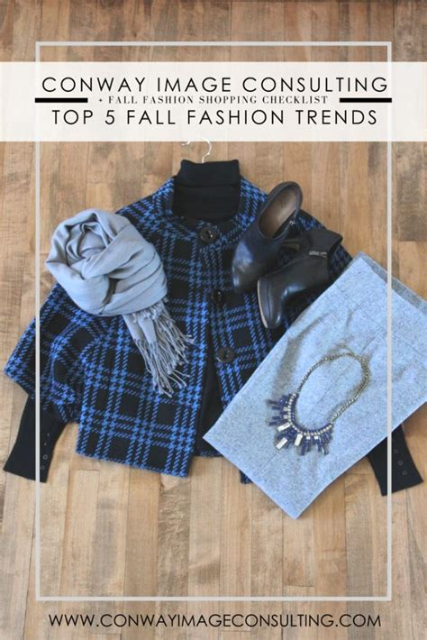 Top 5 Trends For Autumn Top 5 Fall Fashion Trends
