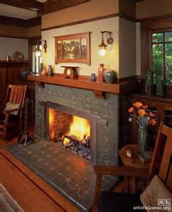 craftsman fireplace surround designs woodworking