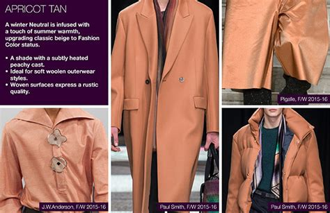 color trends 2017 fashion fall winter 2016 2017 fashion trends key menswear colors