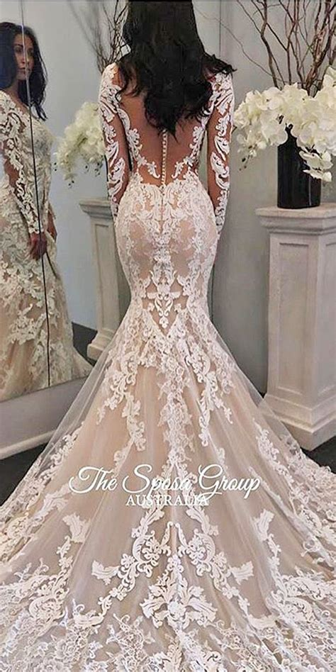 Wedding Dresses Lacy by 36 Chic Sleeve Wedding Dresses Wedding Dress Lace