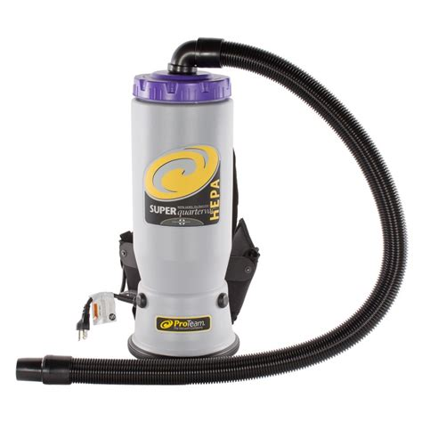 Vacuum Cleaner Dengan Hepa Filter proteam quartervac 6 qt hepa backpack vacuum