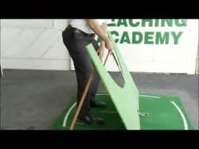 golf swing plane board plane board for your swing grant guerin 150 youtube