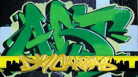 wildstyle graffiti  canvas graffiti art youtube