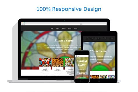 Home Decor Website Template Glass Website Templates