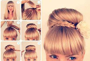easy valentine day hairstyle tutorials 2014 for