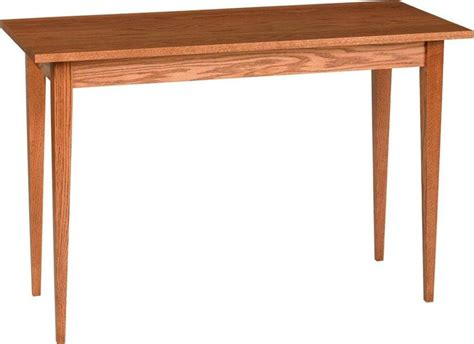 shaker sofa table amish classic shaker sofa table