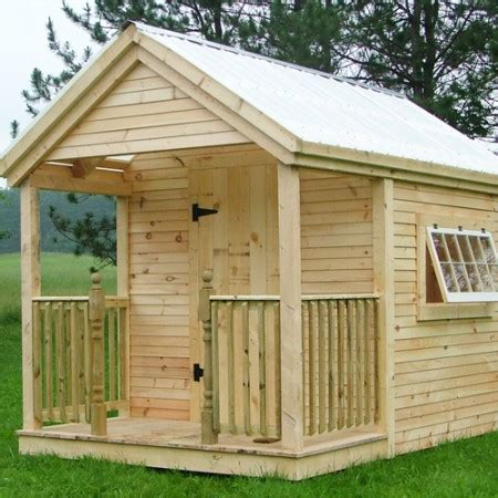 Wooden Garden Shed Kits by Garden Potting Sheds Wood Playhouse Kit Jamaica Cottage Shop