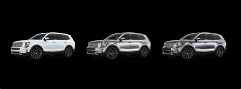 2020 Kia Telluride White by Available Color Options For The 2020 Kia Telluride Kia