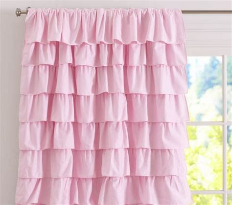 Curtains With Ruffles 15 Best Images About Ruffle Curtain Project On Pinterest Window Treatments Pottery Barn