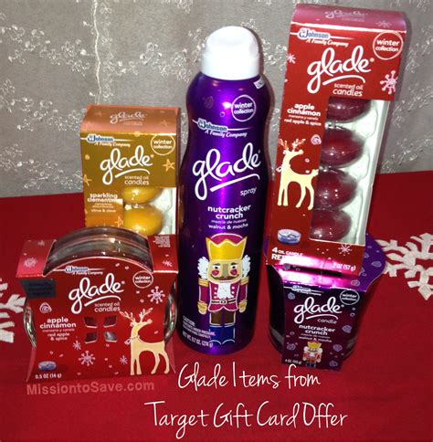 Can I Exchange My Target Gift Card For Cash - target glade gift card deal quot scent quot sational gift basket idea mission to save