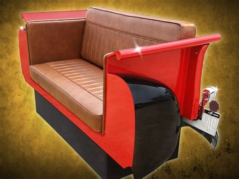 tailgate sofa new retro cars restored classic car furniture and decor