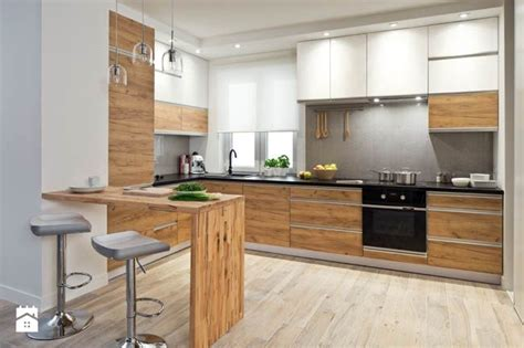 lada ad angolo kuchnia duża otwarta kuchnia w kształcie litery l z