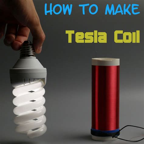 How To Build A Tesla Coil Step By Step Simple Tesla Coil All