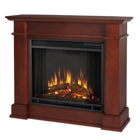 Indoor Electric Fireplace Real Devin Indoor Electric Fireplace In Espresso 1220e De