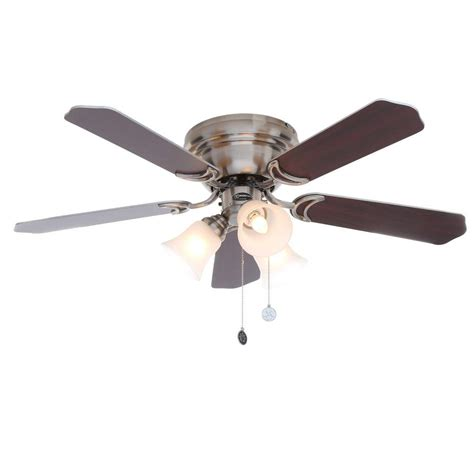 42 outdoor ceiling fan home decorators collection pendersen 42 in led indoor