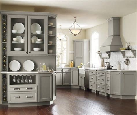 pebble gray kraftmaid cabinets   Google Search    Pinteres