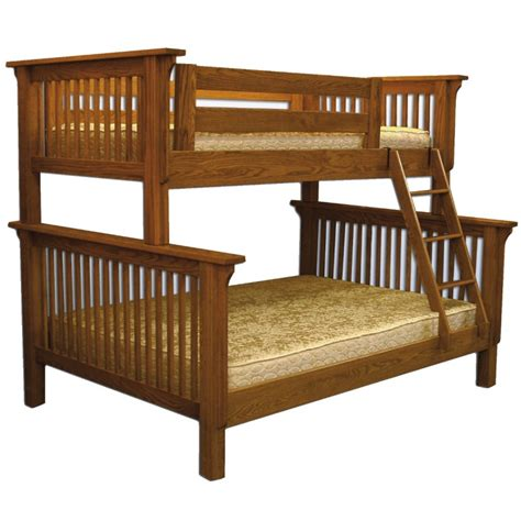 Country Bunk Beds Mission Bunk Bed Amish Made Bunk Bed Solid Wood Construction Country