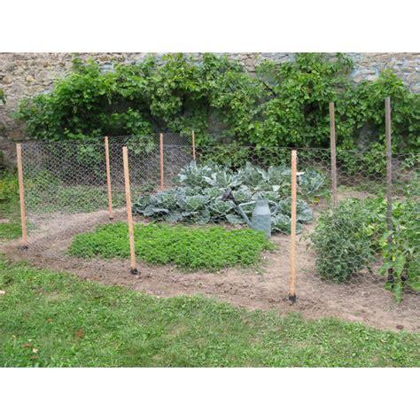 cloture pour jardin cl 244 ture grillag 233 e en bois pour prot 233 ger potager jardin et saisons