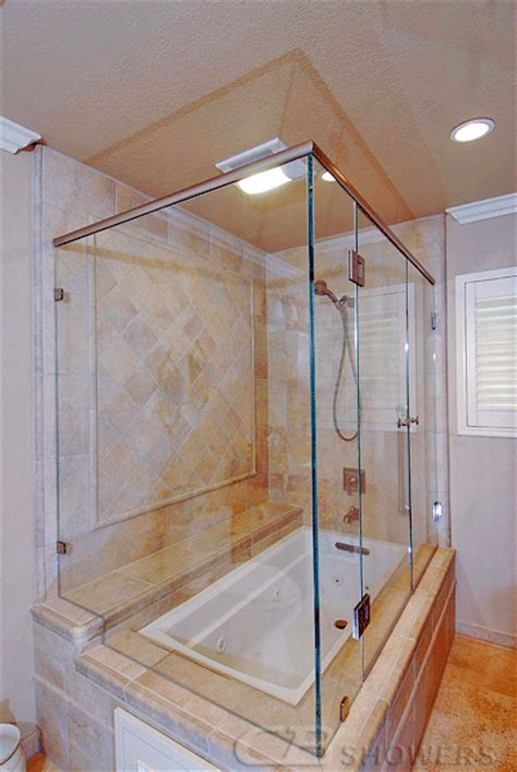 Shower Screen Corner Bath frameless showers cb showers in san carlos