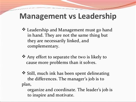 leadership and management quotes like success