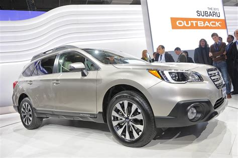 cost of subaru outback 2015 this is how much the new subaru outback costs in the uk