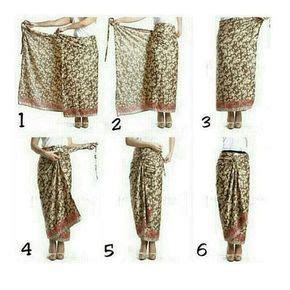 Atessa Ethnic Rok Lilit Maxi Skirt 23 best cara pake kain images on batik fashion