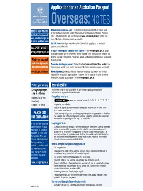 Resume Application For Australian Passport Passport Application Form 13 Free Templates In Pdf Word