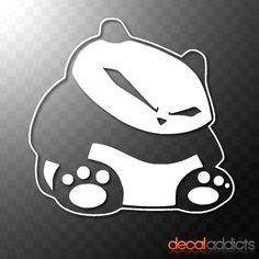 Sticker Mobil Stiker Mobil Soul Jdm details about sleeping panda vinyl decal sticker jdm