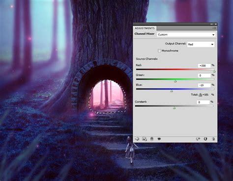 Mixer Warna Pink cara membuat manipulasi foto di adobe photoshop