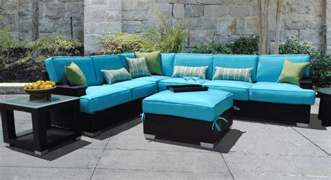 blue outdoor furniture sofas jard 237 n acogedor y moderno con muebles preciosos