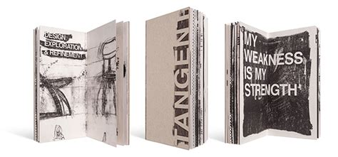 tangentially reading books tangent process book on behance