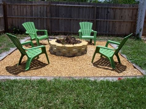 how to make a backyard fire pit fire pit ideas