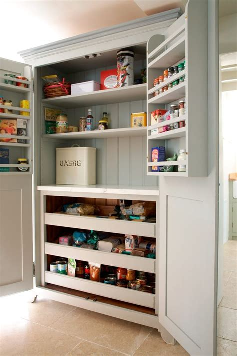 kitchen food pantry cabinet safe food storage kitchen farmhouse with bread bin traditional drawer organizers byrneseyeview